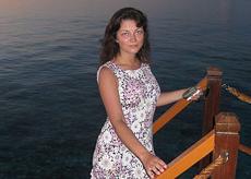 Александра Соловьёва. Любуюсь закатом на самом экваторе.